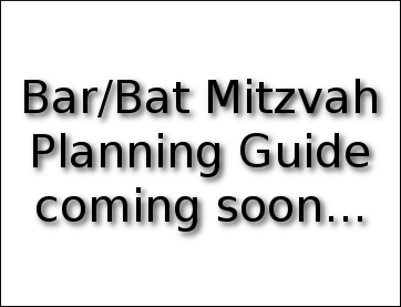 Fantasy Bar/Bat Mitzvah Planning Guide.